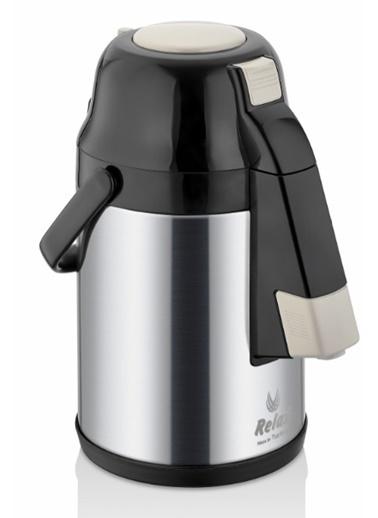 Remetta Caldo Delux 4.5 Litre Çelik Termos-Siyah Siyah